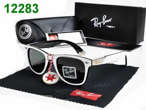 achat lunette ray ban homme pas cher